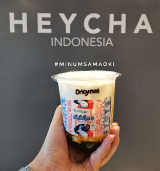 Foto review Heycha oleh @makansamaoki  2