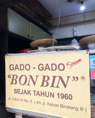 Foto review Gado - Gado Bon Bin oleh Claudia @claudisfoodjournal 4