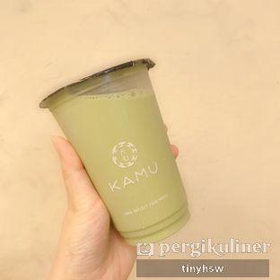 Foto 1 - Makanan(matcha milk tea) di Kamu Tea oleh Tiny HSW. IG : @tinyfoodjournal