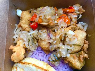 Foto 2 - Makanan di Master Squid oleh Levina JV (IG : @levina_eat & @levinajv)