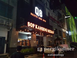 Foto 2 - Eksterior di Sop Kambing Medan Q8 oleh EATIMOLOGY Rafika & Alfin