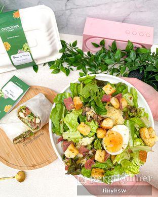 Foto review Crunchaus Salads oleh Tiny HSW. IG : @tinyfoodjournal 1