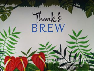 Foto review Thank's Brew oleh @foodiaryme | Khey & Farhan 5