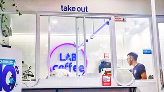Foto Interior di Lab Coffee