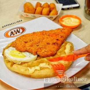 Foto - Makanan di A&W oleh Oppa Kuliner (@oppakuliner)