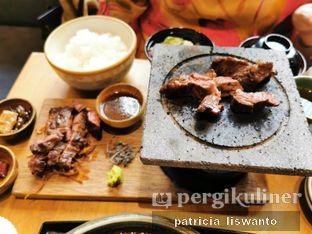 Foto 3 - Makanan(beef harami steak set) di Hokkaido Izakaya oleh Patsyy