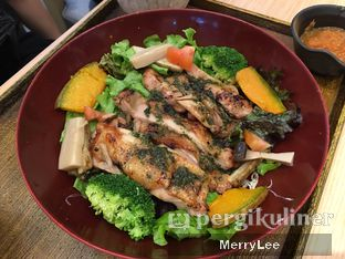Foto 1 - Makanan(Basil Chicken) di Ootoya oleh Merry Lee