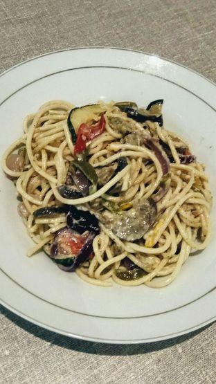 Foto 1 - Makanan(Spaghetti Roast Vegetables and Sage) di Pizza Barboni oleh YSfoodspottings