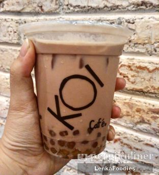Foto 1 - Makanan(Ovaltine with golden boba ) di KOI Cafe oleh LenkaFoodies (Lenny Kartika)