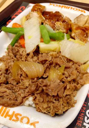 Foto - Makanan(combo bowl) di Yoshinoya oleh maysfood journal.blogspot.com Maygreen