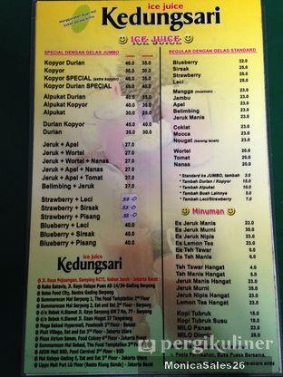Foto 2 - Menu di Ice Juice Kedung Sari oleh Monica Sales