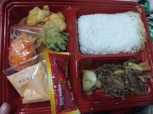 Foto review HokBen (Hoka Hoka Bento) Delivery oleh Devi Renat 1