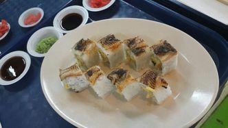 Foto Makanan di Sushi Box