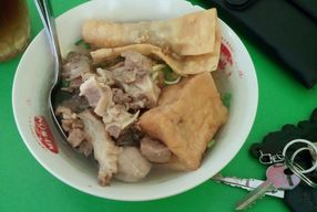 Foto Bakso Tetel Sapi Pak No