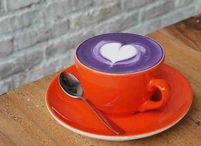 Cantiknya Warna-Warni Seni Latte