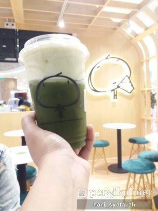 Foto 2 - Makanan(Matcha Cheese Tea) di Kamu Tea oleh Hani Syafa'ah