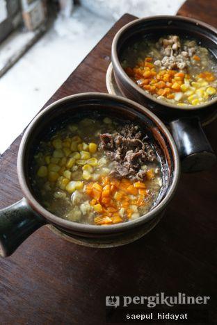 Foto 2 - Makanan(Claypot Siram Telur Matang) di Claypot Popo oleh Saepul Hidayat