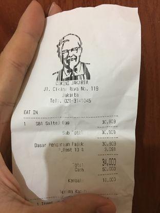 Foto review KFC oleh @Tedsuja  1