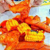 Foto Makan ayam di Roti Bakar Manahan