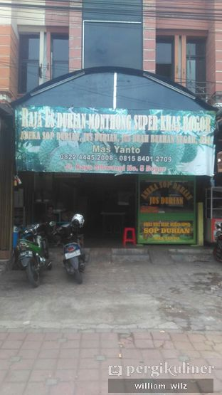 Foto review Raja Es Durian Montong Mas Yanto oleh William Wilz 4