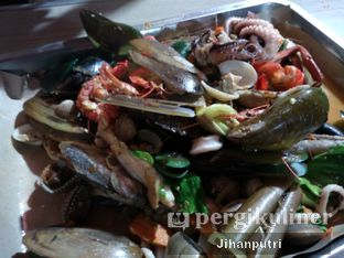 Foto 1 - Makanan di Seafood Kiloan Bang Bopak oleh Jihan Rahayu Putri
