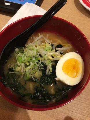 Foto 8 - Makanan(Miso Ramen) di Genki Sushi oleh Elvira Sutanto