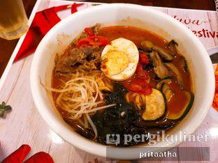 Foto 1 - Makanan(chili beef ramyeon) di Kimchi - Go oleh Prita Hayuning Dias