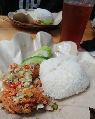 Foto 1 - Makanan(Ayam Geprek Sambal Matah) di Geprek Bensu oleh Jajanan bdg (IG)