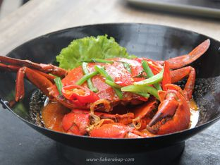 Foto 2 - Makanan(Kepiting Saos Singapore) di Dapur Seafood oleh Lia Harahap