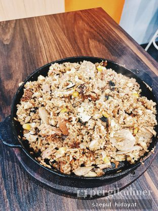 Foto 1 - Makanan(Volcano Float setelah dimasak) di Ow My Plate oleh Saepul Hidayat