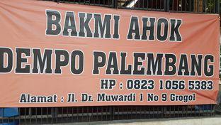 Foto review Bakmi Ahok Dempo Palembang oleh Lid wen 1