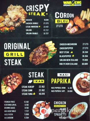 Foto 4 - Menu di Waroeng Steak & Shake oleh efa yuliwati