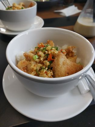 Foto 1 - Makanan(Chicken garlic rice bowl) di Kopitera oleh bagir haddar
