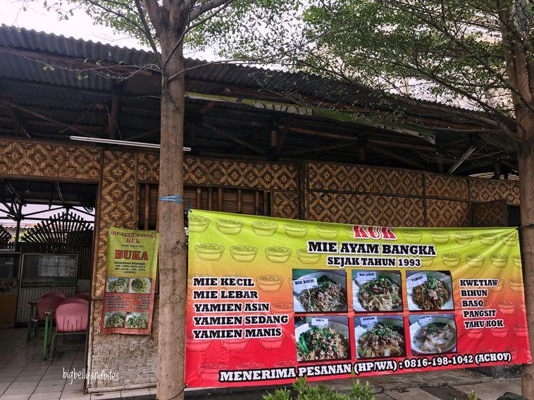 Luar Biasa Banner Mie Ayam Bangka - Erlie Decor