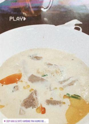 Foto - Makanan di Sop Kaki & Sate Kambing Bang Hasan Kumis oleh Maria Gunadi