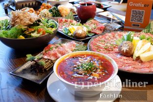 Foto review WAKI Japanese BBQ Dining oleh Muhammad Fadhlan (@jktfoodseeker) 9