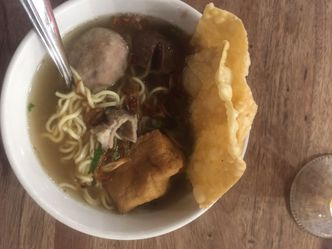 Foto Makanan di Bakso Lapangan Tembak Senayan