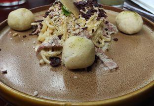 Foto - Makanan(Spagheti classic carbonara) di Jenderal Kopi Nusantara Buwas oleh Tita Kusniawati