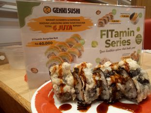 Foto 4 - Makanan di Genki Sushi oleh Fuji Fufyu