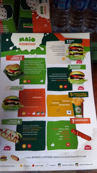 Foto review Maio Green Burger oleh NOTIFOODCATION Notice, Food, & Location 6