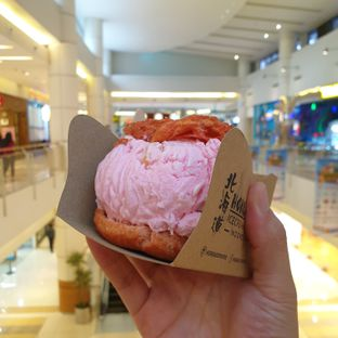 Foto review Hokkaido Icecream Puff oleh Yashinta  1