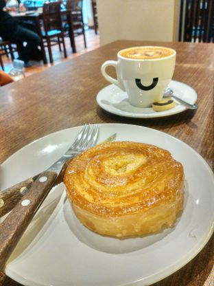 Foto 2 - Makanan(Salted caramel) di Yumaju Coffee oleh Monika Ardine