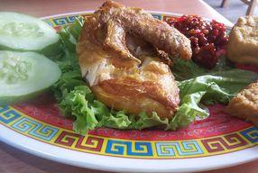Foto Ayam Penyet Woke