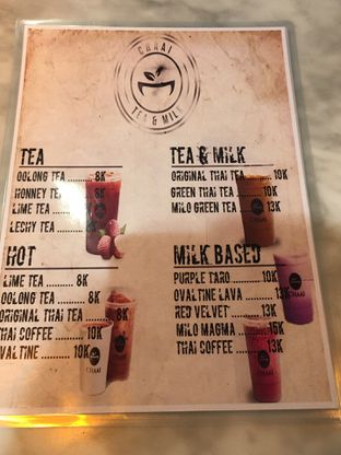 Foto 8 - Menu di Chaai Tea & Milk Cafe oleh Mariane  Felicia