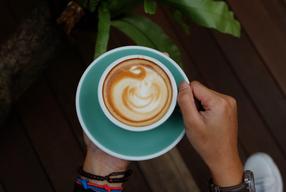 Foto Contrast Coffee