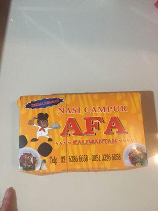 Foto 3 - Makanan di Nasi Campur AFA Kalimantan oleh @Itsjusterr
