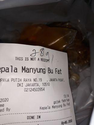 Foto 5 - Makanan di Kepala Manyung Bu Fat oleh Mouthgasm.jkt