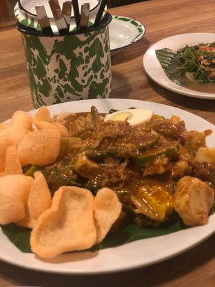 Foto 2 - Makanan(Gado2) di Gerobak Betawi oleh Oswin Liandow