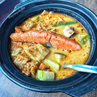 Foto Makanan di Nasi Lodeh Salmon
