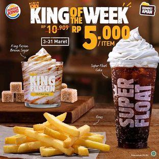 Foto 10 - Menu(Promo Bokek) di Burger King oleh Kezia Kevina